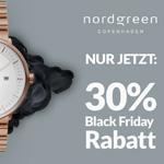 Black Friday Sale bei Nordgreen: Nachhaltige Uhren für Damen und Herren nur heute 30% reduziert