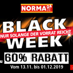 Profitiere jetzt von den BLACK WEEK Highlights bei Norma24 und sicher dir bis zu 60% Rabatt
