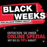 Schnappe dir jetzt die Highlights der Black Weeks bei Norma24 und spare bis zu 74%