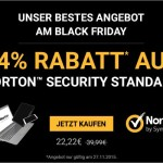 Sicher dir nur heute 44,44% Rabatt auf Norton Security Standard. Nur 22,22 EUR statt 39,99 EUR.