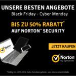 50% Rabatt beim Kauf eines Produkts aus der Norton Security Reihe