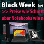 Sicher dir jetzt dein Schnäppchen beim großen Black Week Sale auf notebookswieneu.de