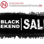 Sicher dir jetzt die Tiefpreise zum Black Weekend bei notebooksandmore.de