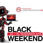 Black Weekend bei notebooksandmore.de – bis zu 30% Rabatt auf ausgewählte Lenovo ThinkPads