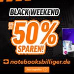 Bis zu 40% Rabatt beim Black Weekend von notebooksbilliger.de