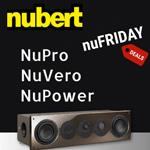 nuFriday Deals: Spektakulärer Hörspaß mit Aktivtechnik von nubert jetzt bis zu 34% günstiger