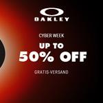 Oakley Cyber Week: Bis zu 50% Rabatt auf zahlreiche Artikel
