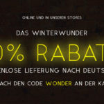 Ob Online oder in den Stores: Hole dir jetzt den 20% Winterwunder Rabatt bei OFFICE