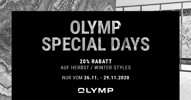 Olymp Black Friday 2020