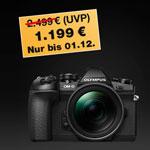 Olympus Kamera Kit OM-D E-M1 Mark II jetzt nur 1.199 EURO