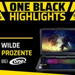 Hole dir jetzt wilde Prozente auf Gaming PCs, Notebooks und mehr beim One.de Black Sale