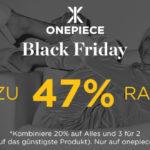 Onepiece Black Friday – Spare jetzt bis zu 47%* bei deinem Einkauf!