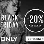 Black Friday bei ONLY – 20% Rabatt auf Alles!