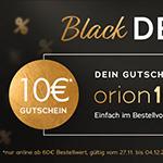 Großer Spaß – keiner Preis: 10 Euro Rabatt auf ALLES im Store von Orion