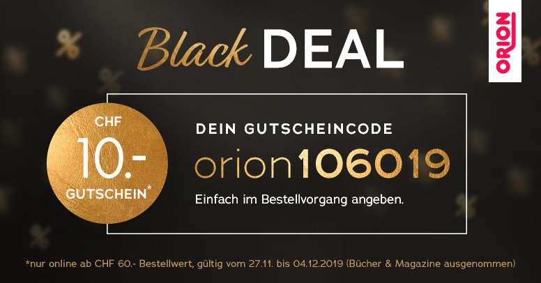 Orion Black Friday 2019