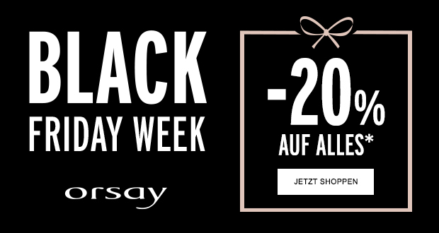 Orsay Black Friday 2018