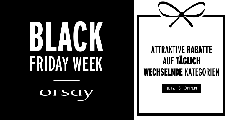 orsay Black Friday Week 2019