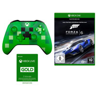 XB One Minecraft Contoller+Forza 6+