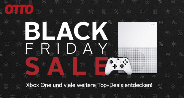 xbox black friday angebote 2018 bei otto black. Black Bedroom Furniture Sets. Home Design Ideas