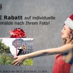 paintify Black Friday / Cyber Monday Deals: 40 Euro auf alle individuellen Gemälde nach Foto