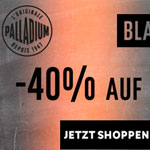 Jetzt 40% Rabatt auf das komplette Sortiment an Schuhen bei Palladium