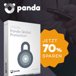 Sicher dir nur heute 70% Rabatt auf Panda Global Protection Security Suite!