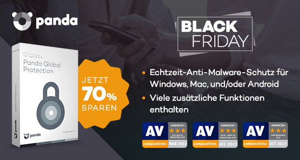 Panda Black Friday 2017