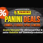 Panini Deals für Fans: satte Rabatte auf Sammelprodukte, Gratis-Versand für Aktionsartikel!