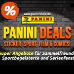 Panini Deals für Fans: satte Rabatte auf Sammelprodukte, Gratis-Versand ab 10 Euro!