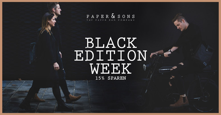 Paper & Sons Black Friday 2020