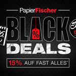 Black Deals: 15% auf fast ALLES und bis 60% auf ausgewählte Schreibgeräte und Accessoires