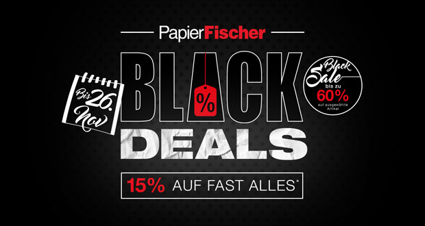 PapierFischer Black Friday 2018