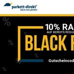 10% Rabatt auf alle reduzierten Artikel im Shop von Parkett Direkt!