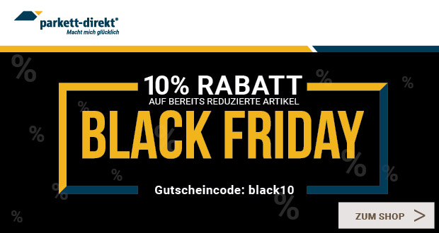 Parkett-direkt Black Friday 2018