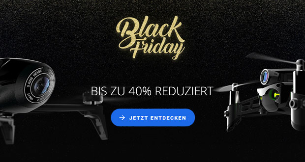 black friday bei parrot spare bis zu 40 auf drohnen und zubeh r black. Black Bedroom Furniture Sets. Home Design Ideas