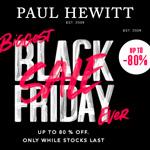 Black Week bei Paul Hewitt mit bis zu 80% Rabatt