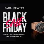 Sicher dir bis zu 70% Rabatt beim Biggest Black Friday Sale Ever im Store von Paul Hewitt