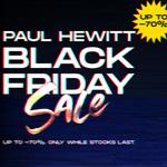 Spare bis zu 70% auf ausgewählte Produkte im Store von Paul Hewitt