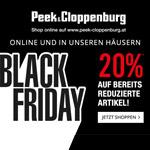 20% Rabatt auf bereits reduzierte Artikel im Onlineshop und in den Häusern von Peek & Cloppenburg*
