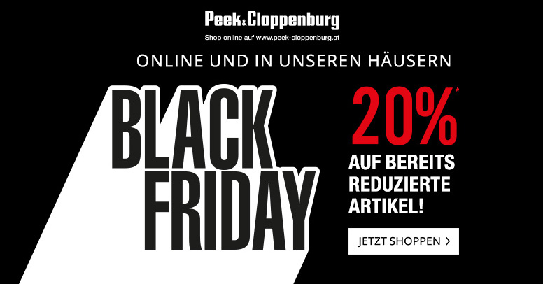 Peek & Cloppenburg Black Friday 2019