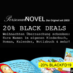 Sicher dir jetzt den 20% Gutschein auf personalisierte Bücher & Geschenke von PersonalNOVEL!