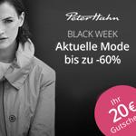 Peter Hahn Black Week – Aktuelle Mode bis zu 60% günstiger