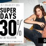 30% Rabatt auf die gesamte Kollektion im Online-Store von Pimkie