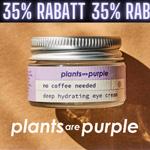 Nur für kurze Zeit 35% Rabatt auf das gesamte Sortiment von Plants are Purple