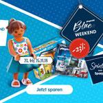 Blue Weekend bei Playmobil mit 23% Rabatt auf das Standardsortiment, Ergänzungen und Zubehör