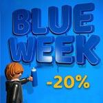 Blue Week bei Playmobil – Sicher dir jetzt 20% Rabatt auf ausgewählte Artikel