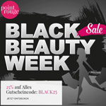 Black Beauty Week bei Point Rouge – 25% Rabatt auf alles