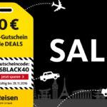 40,- € Rabatt Gutschein für alle aktuellen Reise-Deals von Post Reisen