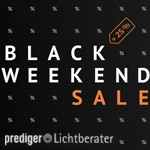 Prediger Lichtberater mit 25% Rabatt auf zahlreiche Design-Highlights und technische Leuchten