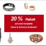 Preiswert24 Black Friday Sale – 20 % Rabatt auf das gesamte Uhren und Schmuck Sortiment
